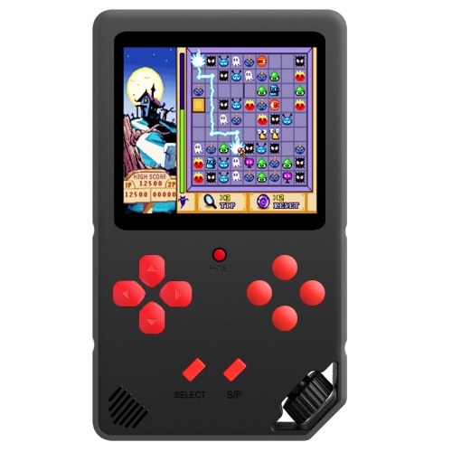 "ZHISHAN Portable Handheld Game Console for Kids Adults with Built in 220 HD 16Bit Classic Video Games Player System 3.0"" Display Perfect for Holiday B"