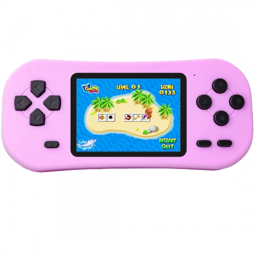 Portable Handheld Game Console for Kids with Built in 218 Classic Retro Video Games Rechargeable Arcade System Device 3.5 Headphone Jack 2.5""