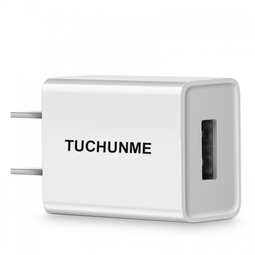 TUCHUNME USB Wall Charger, Charger Adapter  2.1Amp one Port Quick Charger Plug Cube for iPhone SE/11 Pro Max/8/7/6S/6S Plus/6 Plus/6,Galaxy S7/S6/S5 E